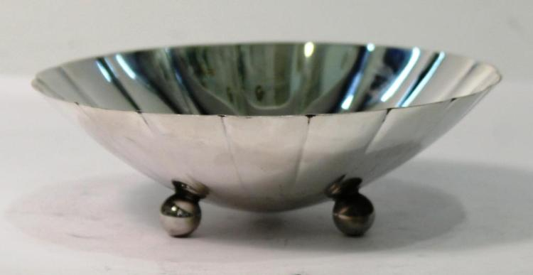 Tiffany & Co. Sterling Fluted Candy Dish
