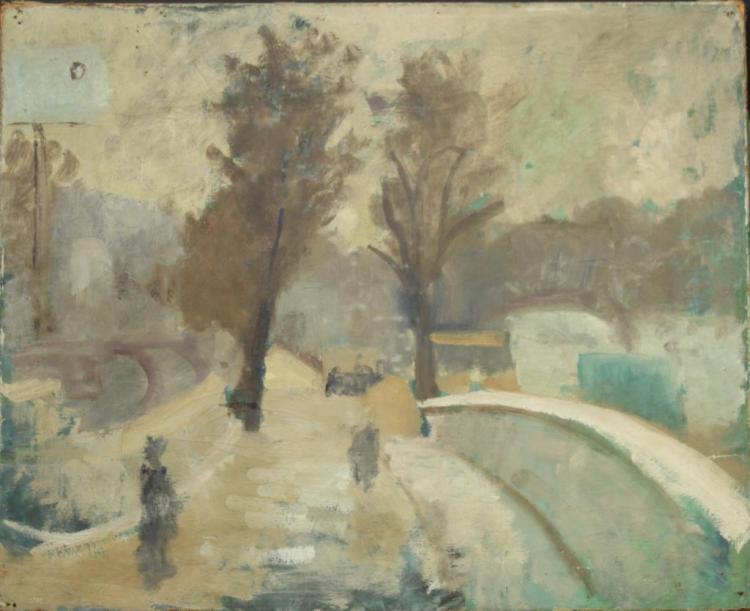 Jean Dreyfus-Stern (French, 1890-1980)- Oil