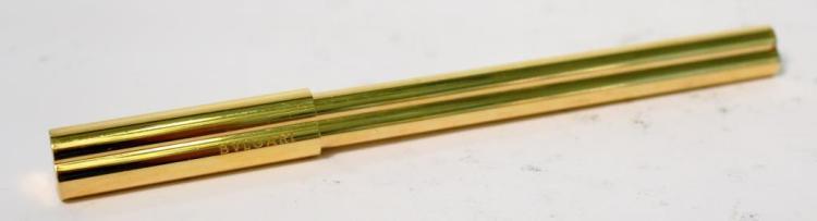 Bulgari Gold-Tone Trefoil Pen