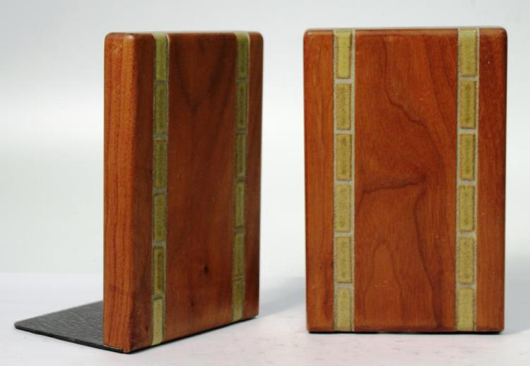 Martz for Marshall Studios Mid-Century Bookends