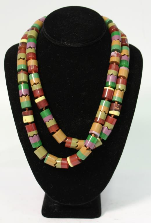 Bead Necklace (Attributed to Missoni)