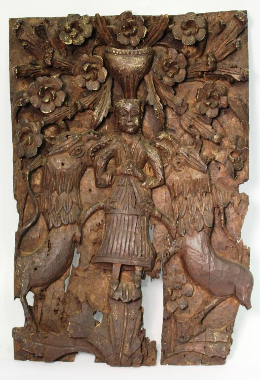 Continental Woodcarving, Jesus Plagued by Demons