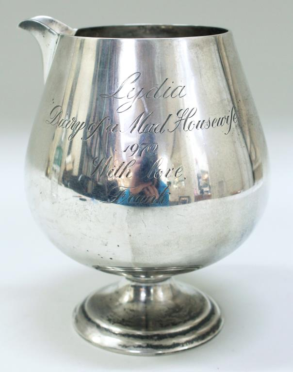 Cartier Sterling Silver Balloon Pitcher