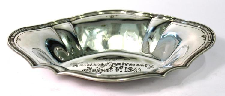 Tiffany Sterling Silver Candy Dish, ca. 1911