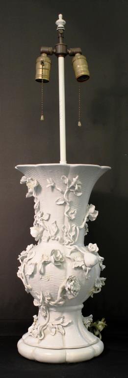Chinese Blanc de Chine Porcelain Vase