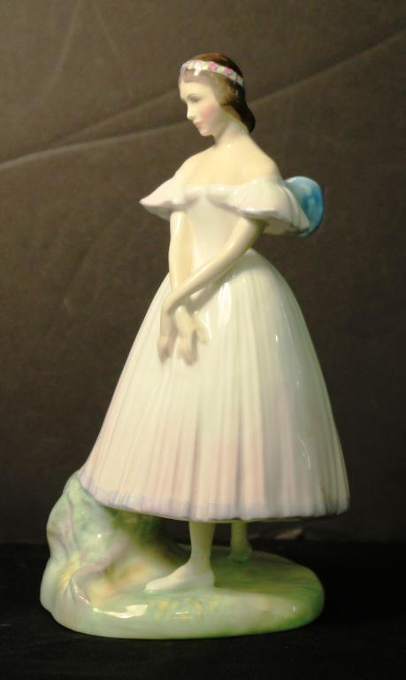 Royal Doulton Hand-Painted Figure,