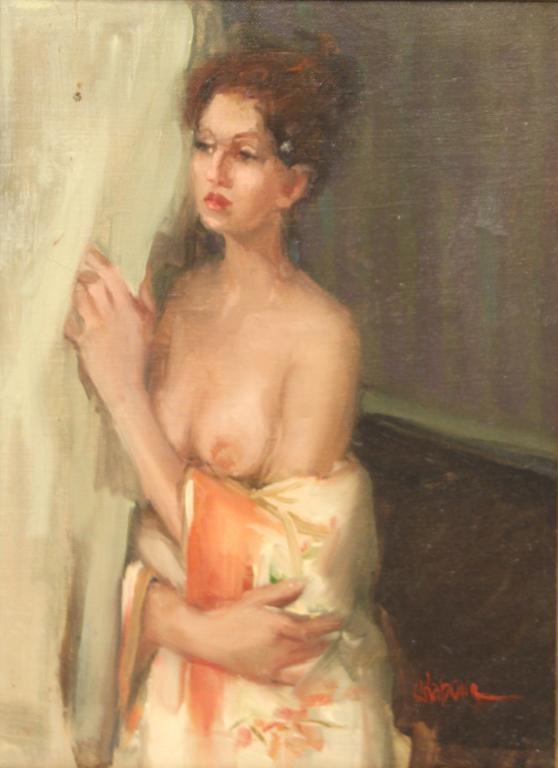 Nancy Chaboun (American, b. 1954)- Oil on Canvas