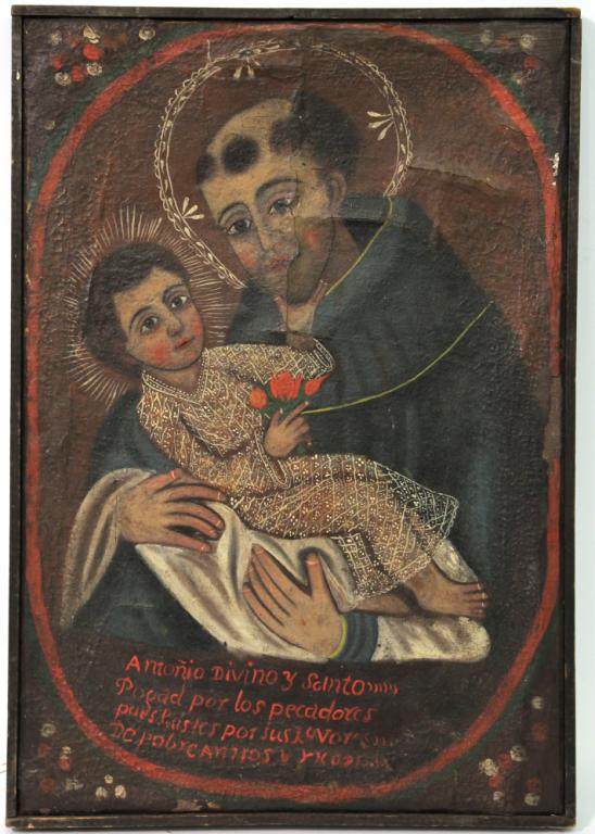 Oil on Canvas, St. Anthony