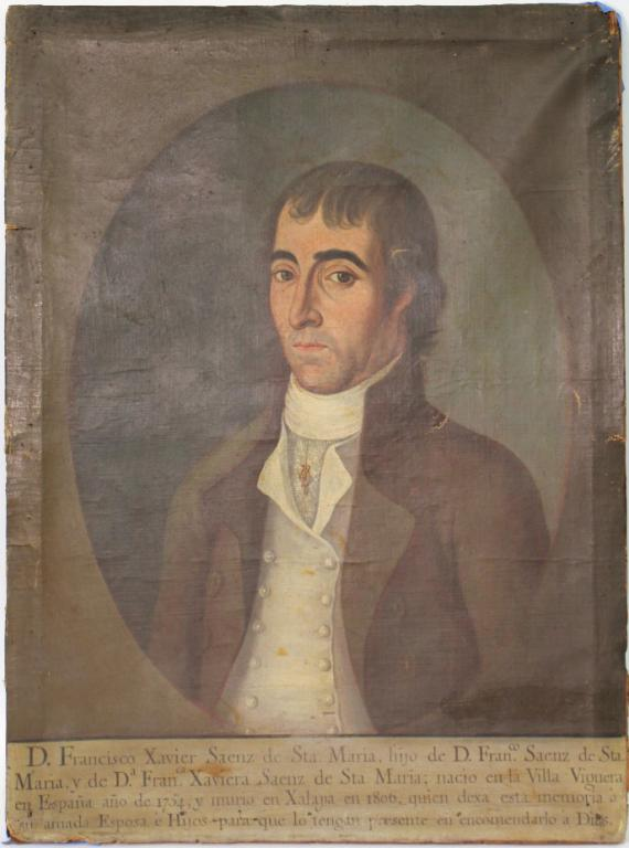 Oil on Canvas, Memorial Portrait, ca. 1806