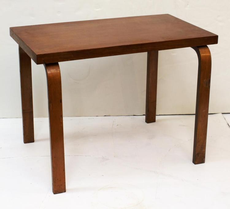Small Alvar Aalto Danish Modern Table