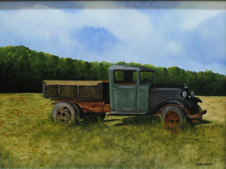 Marieluise Hutchinson (American, born 1947) - Oil