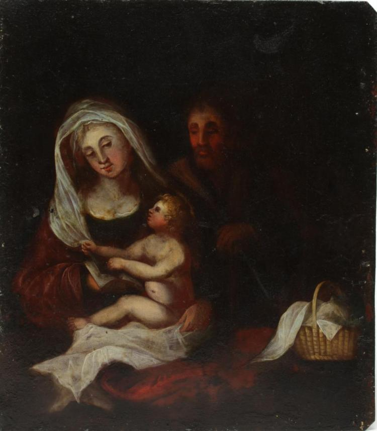 Asian Madonna And Child Oil Painting