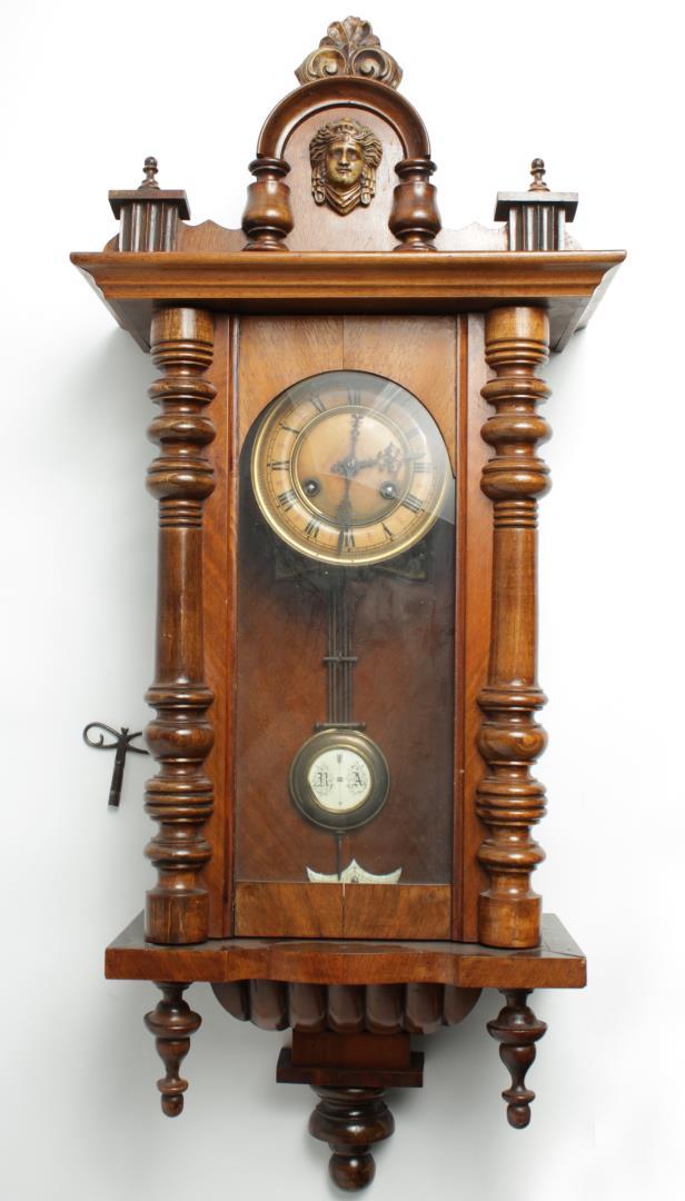 Schlenker & Kienzle German Wall Clock, ca  1900