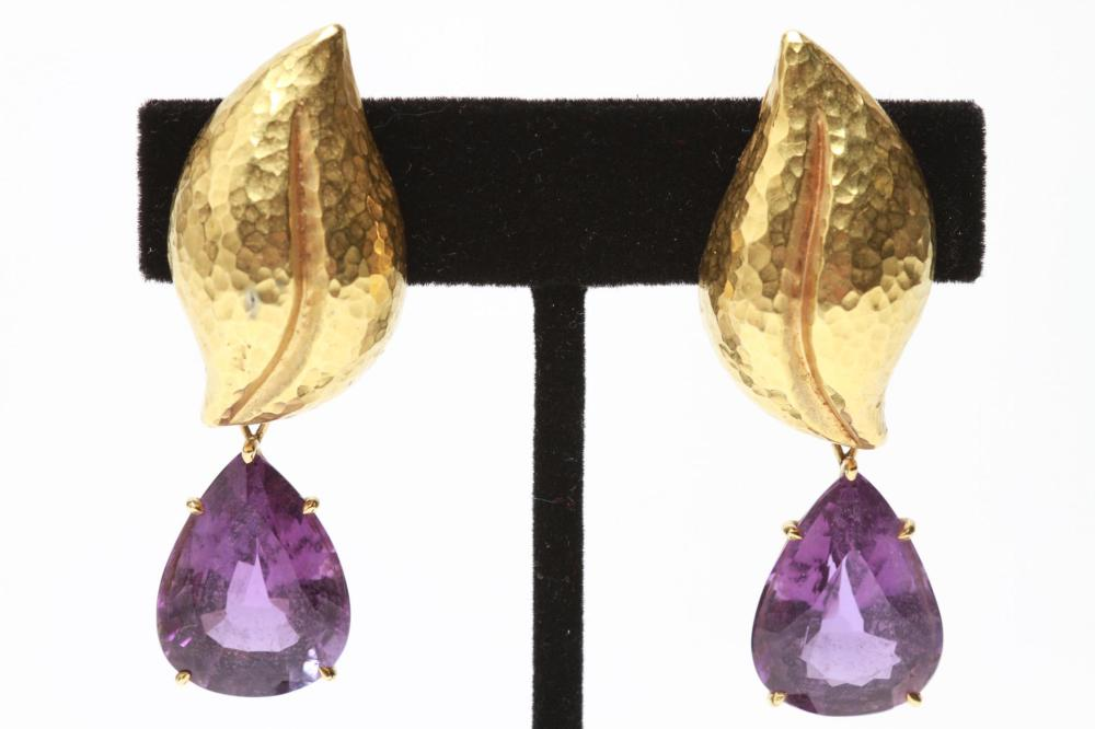 bb4884943 Tiffany & Co 18K Gold Paloma Picasso Earrings, Pr