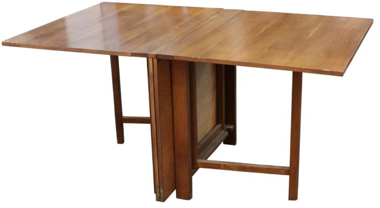 Bruno Mathsson quotMariaquot Teak Drop Leaf Dining Table : H20259 L104130094 from www.invaluable.co.uk size 750 x 411 jpeg 21kB
