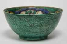 Antique Japanese Arita Porcelain Bowl