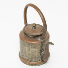 Chinese Mixed Metal Teapot, Yixing Manner