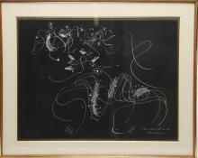Irene Rice Pereira (American, 1902-1971)- Ink