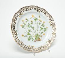 Flora Danica Royal Copenhagen Porcelain Plate