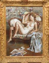 Paul Lewis Clemens (American, 1911-1992)- Pastel