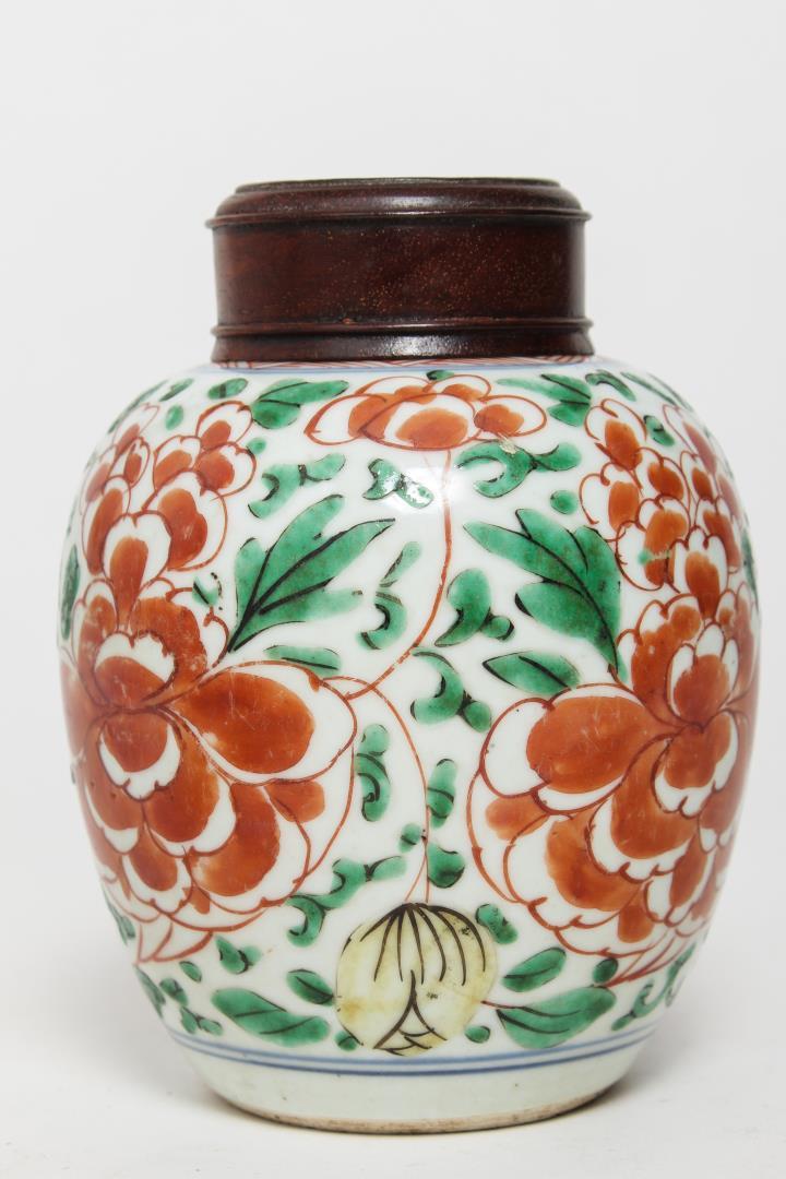 chinese doucai porcelain ginger jar. Black Bedroom Furniture Sets. Home Design Ideas