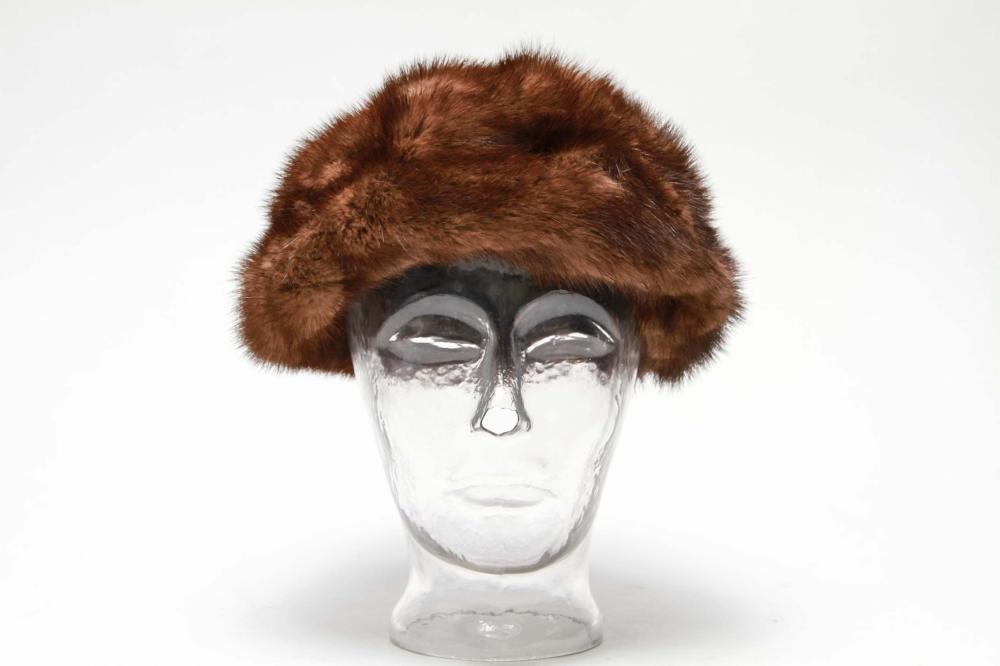 Vintage Mink Fur Hat f5cce61fc68