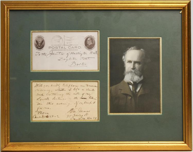 essay on william james These are 10 harvard application essays and profiles from students who made it  in {sponsor prefix=sponsored by link=  name=sponsor.