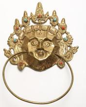 Asian Diminutive Wall-Mounting Mask