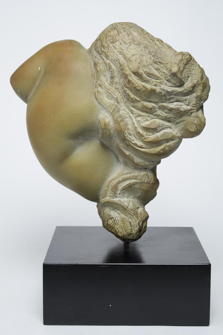 Mid century modern stone figural sculpture