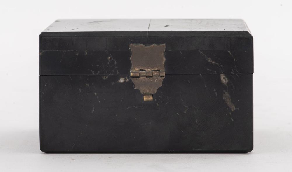 Diminutive Petrified Wood Box