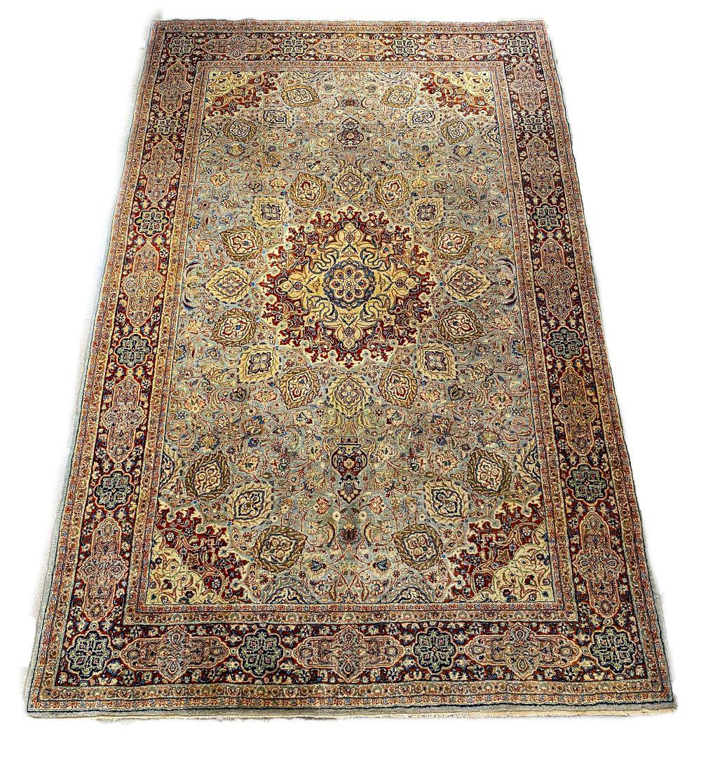 Persian Sarouk Carpet, 10' x 7'