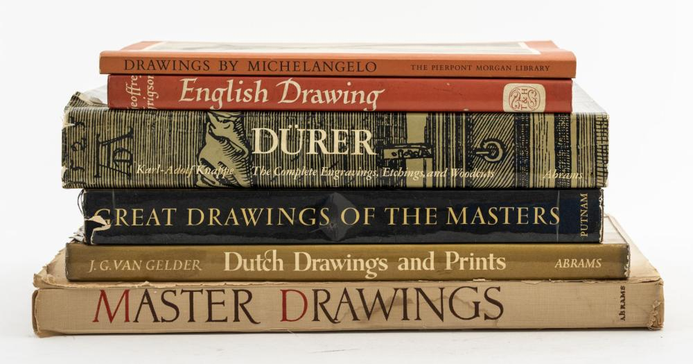 Books On Old Master Drawings, 6