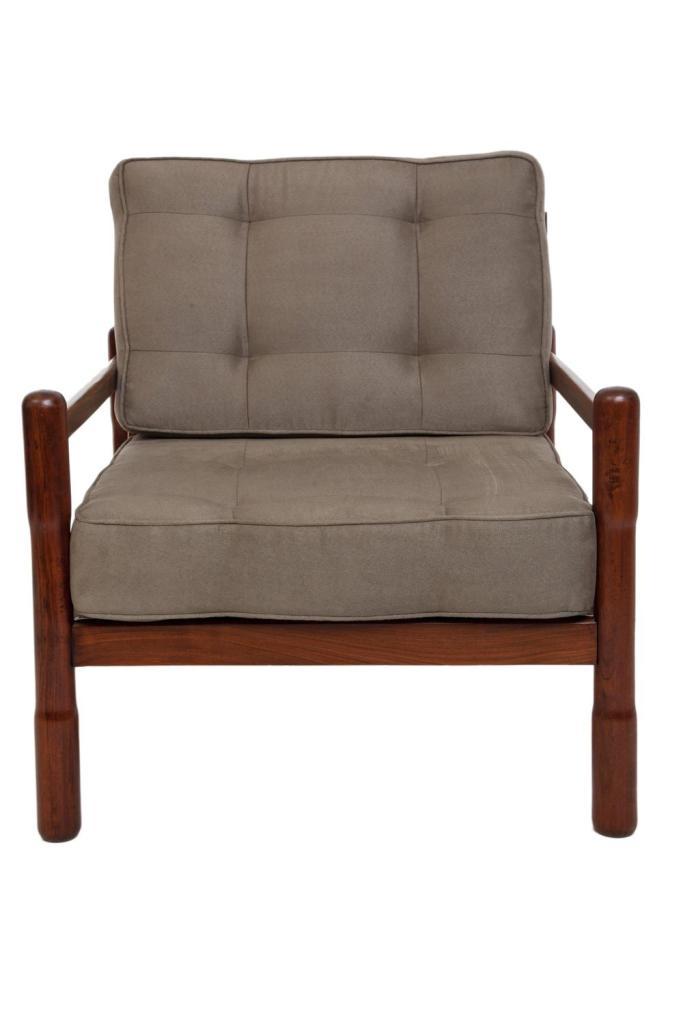 Brazilian mid century modern armchairs in caviuna and moss g - Brazilian mid century modern furniture ...