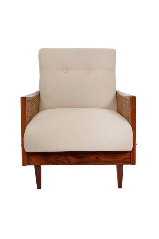 Mid century modern brazilian armchairs in caviuna - Brazilian mid century modern furniture ...