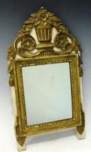 Small Neoclassical-Style Wall Mirror