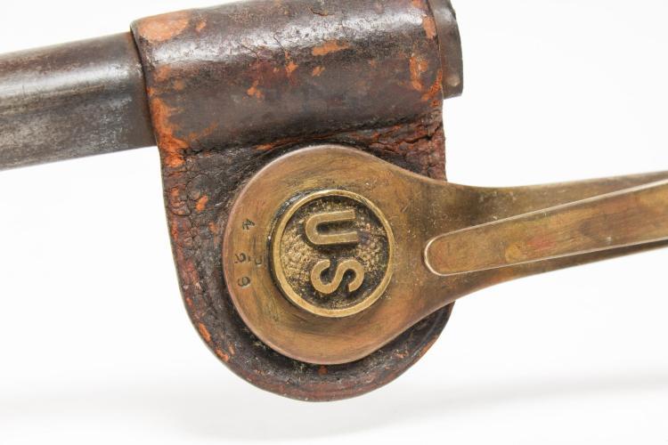 Rifle Bayonet Scabbard & Double Magazine Holder