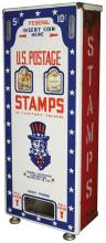 U.S. Postage Stamps Coin Operated Dispenser