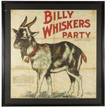 1915 Billy Whiskers Party Cloth Game