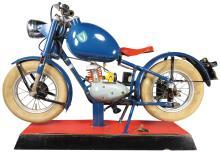 Rare German School Training Model Motorcycle