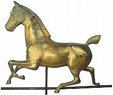 Full Body Running Horse Weathervane