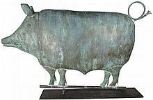 Full Body Pig Weathervane
