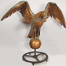 Copper Eagle Cupola Finial