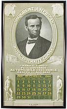 1901 Calendar for Great American Mutual Co.