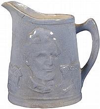 Stoneware Abraham Lincoln Jug