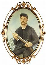 Civil War Confederate Solder Portrait