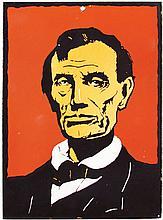 Porcelain Portrait of Abraham Lincoln