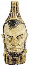 Abraham Lincoln Figural Bottle