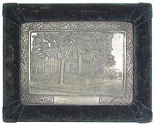 Framed Image of Abraham Lincoln Homestead