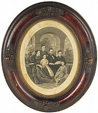 General Ulysses S. Grant & Family  Portrait