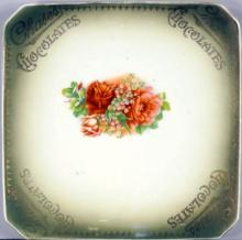 CHASE'S CHOCOLATES LIMOGES CHINA PLATE